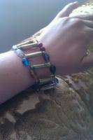 .22 caliber bracelet beads