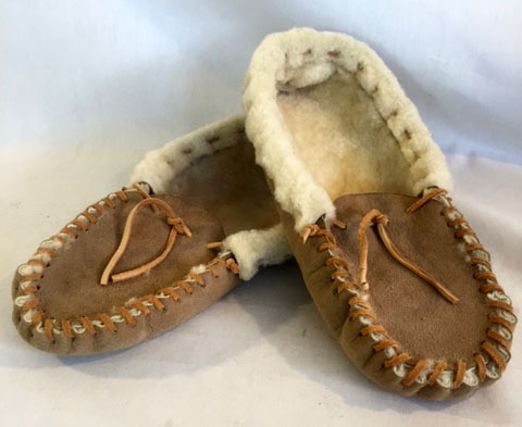 Wool loafer, wool moccasin, wool slipper, up-cycled wool, up-cycled jacket, up-cycled wool slippers, up-cycled slipper