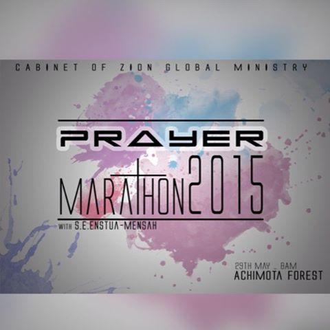 Prayer Marathon 2015