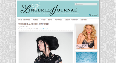 guerrilla-geisha-press-article-lingerie-journal