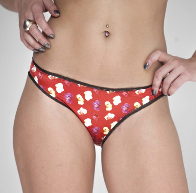 guerrilla-geisha-lingerie-collection-red-orchid-girl-unique-print-knickers-London