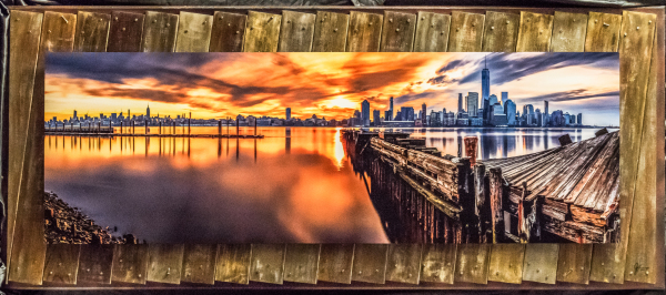 "TWISTED SUNRISE  30""X70""       SOLD"