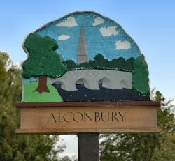 Alconbury village