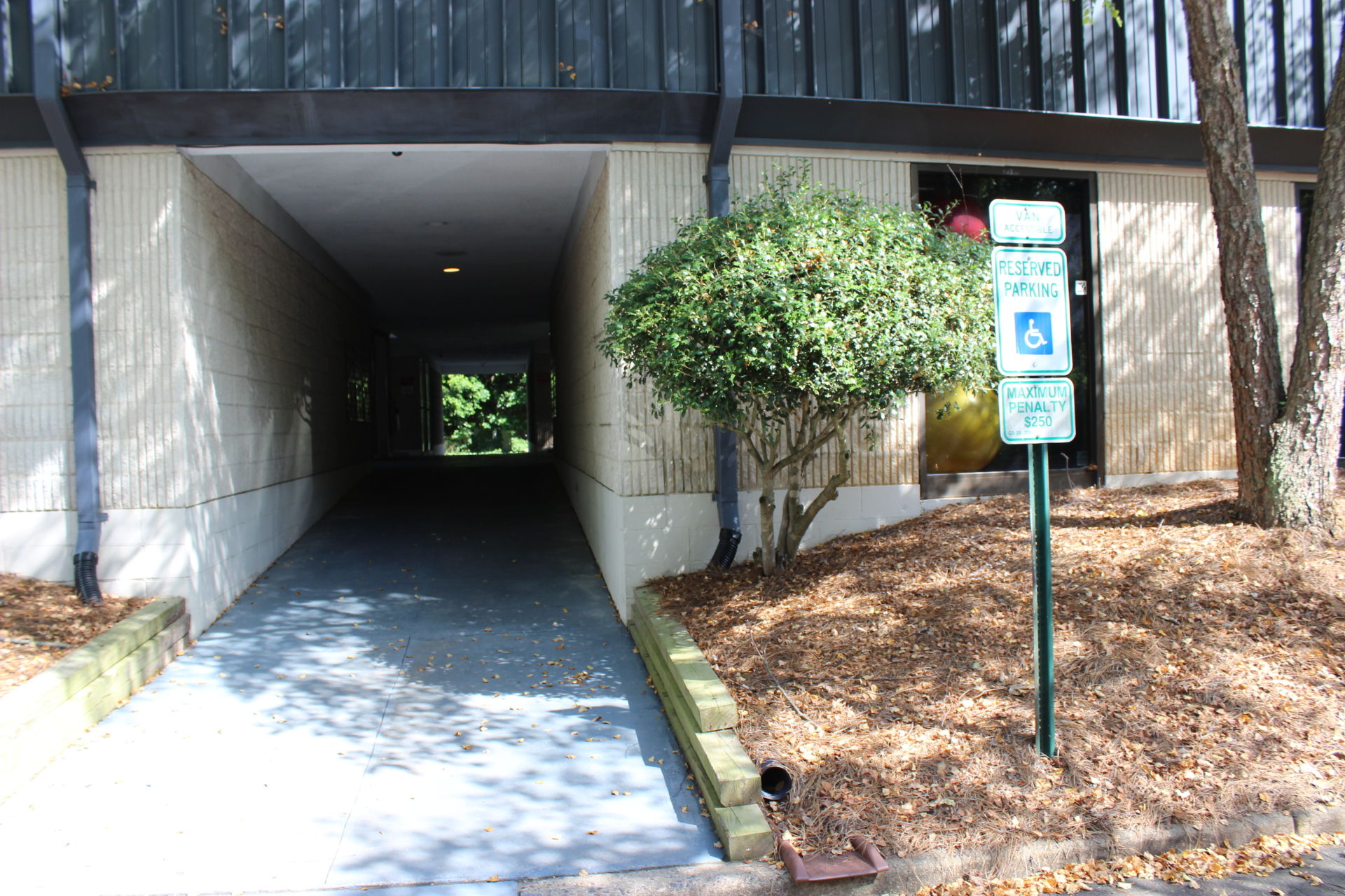 Handicapped accessible