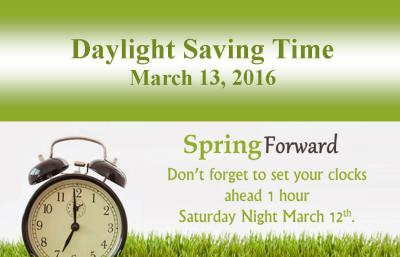 Love it or hate it, here comes Daylight Savings Time.