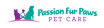 Passion Fur Paws Pet Care Logo