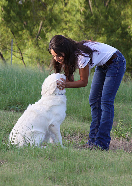 Photo of Destiny Valladares, owner of HArmony Canines, San Antonio Texas