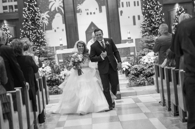 Ashley and Jim's Snowy Winter Wedding