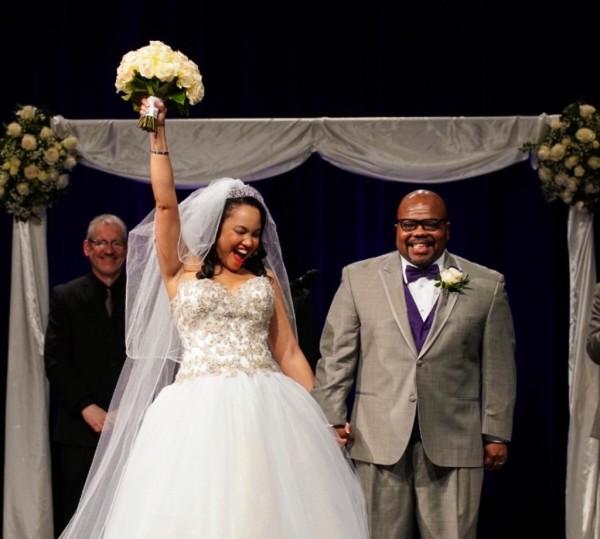Faith, hope, love: Angela and Anthony's April Wedding