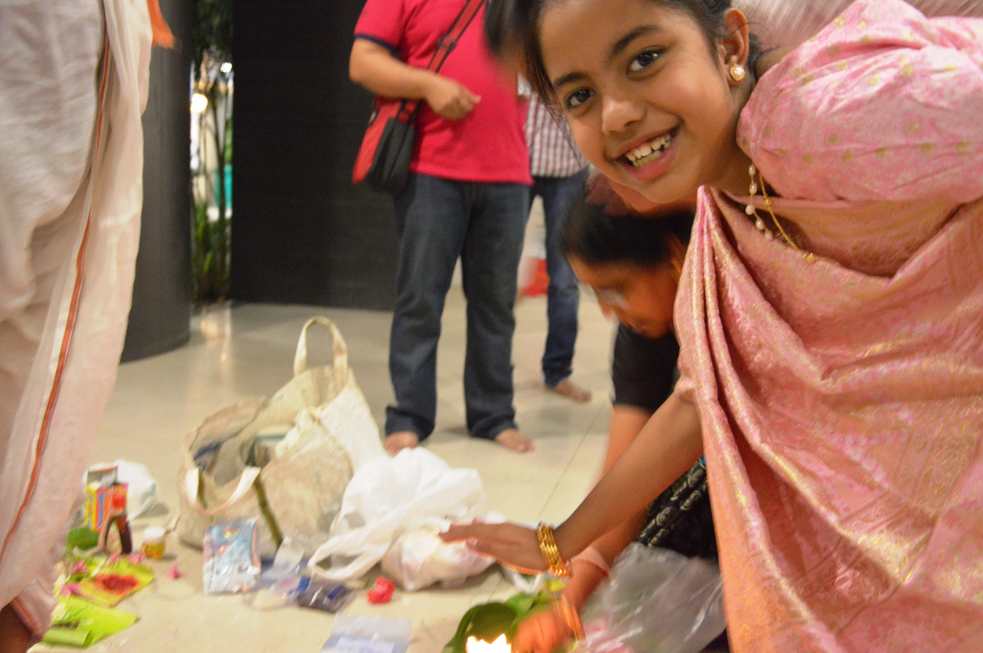 Fun and frolic during Lakshmi Puja