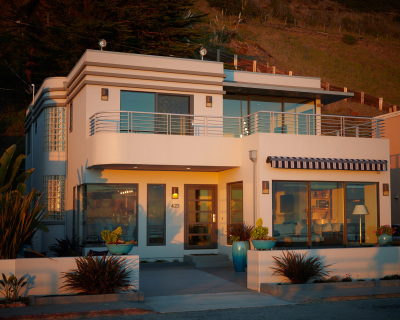 Modern Deco House, Aptos