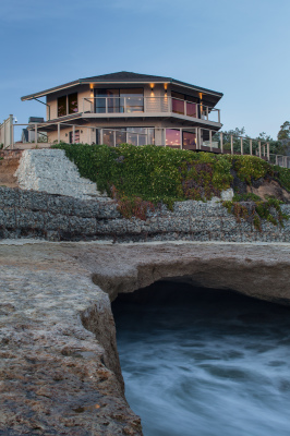 Cliffside Beach Home, Santa Cruz