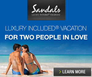 Sandals resort Banner Image
