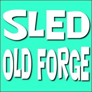 Sled Old Forge Logo