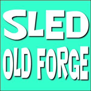 Sled Old Forge Logo