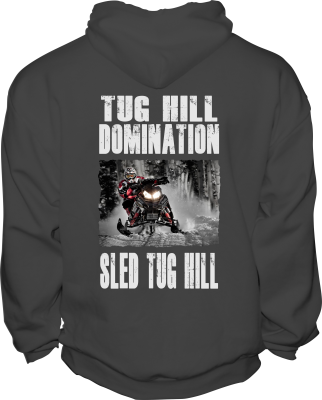 Sled Tug Hill Sweatshirt back