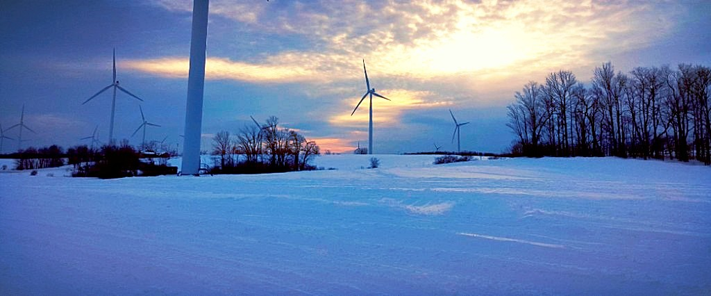 Image of wind mills on Tug Hill