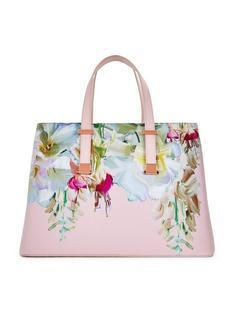Ted Baker Crosshatch Large Tote Bag