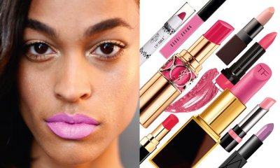 How to get the poppiest pink lips