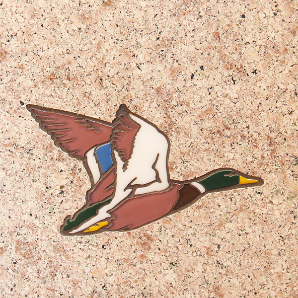 Custom Designed Memorial, Permanent Color, Outdoors design,tile, ceramic, wildlife