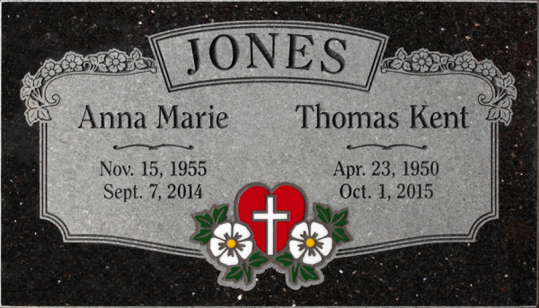 Annealed Glass Inlays / Memorials