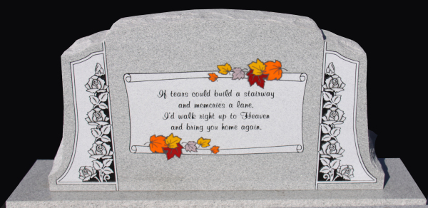 Dalton Memorials/ Permanent Color Glass Inlays