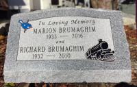 Memorial headstone, gravestone, tombstone