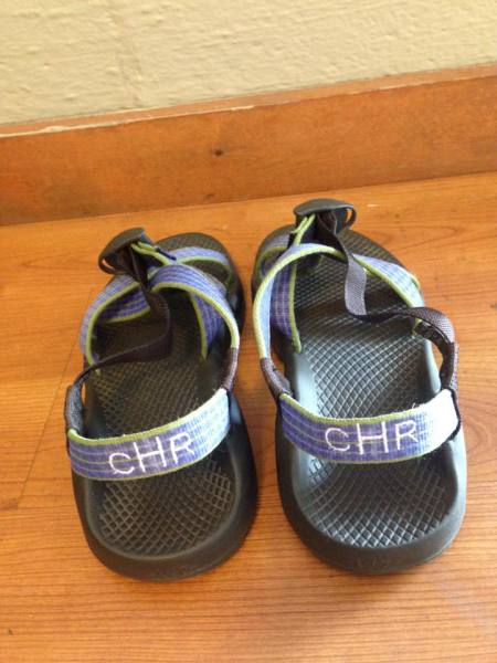 Monogrammed Chacos