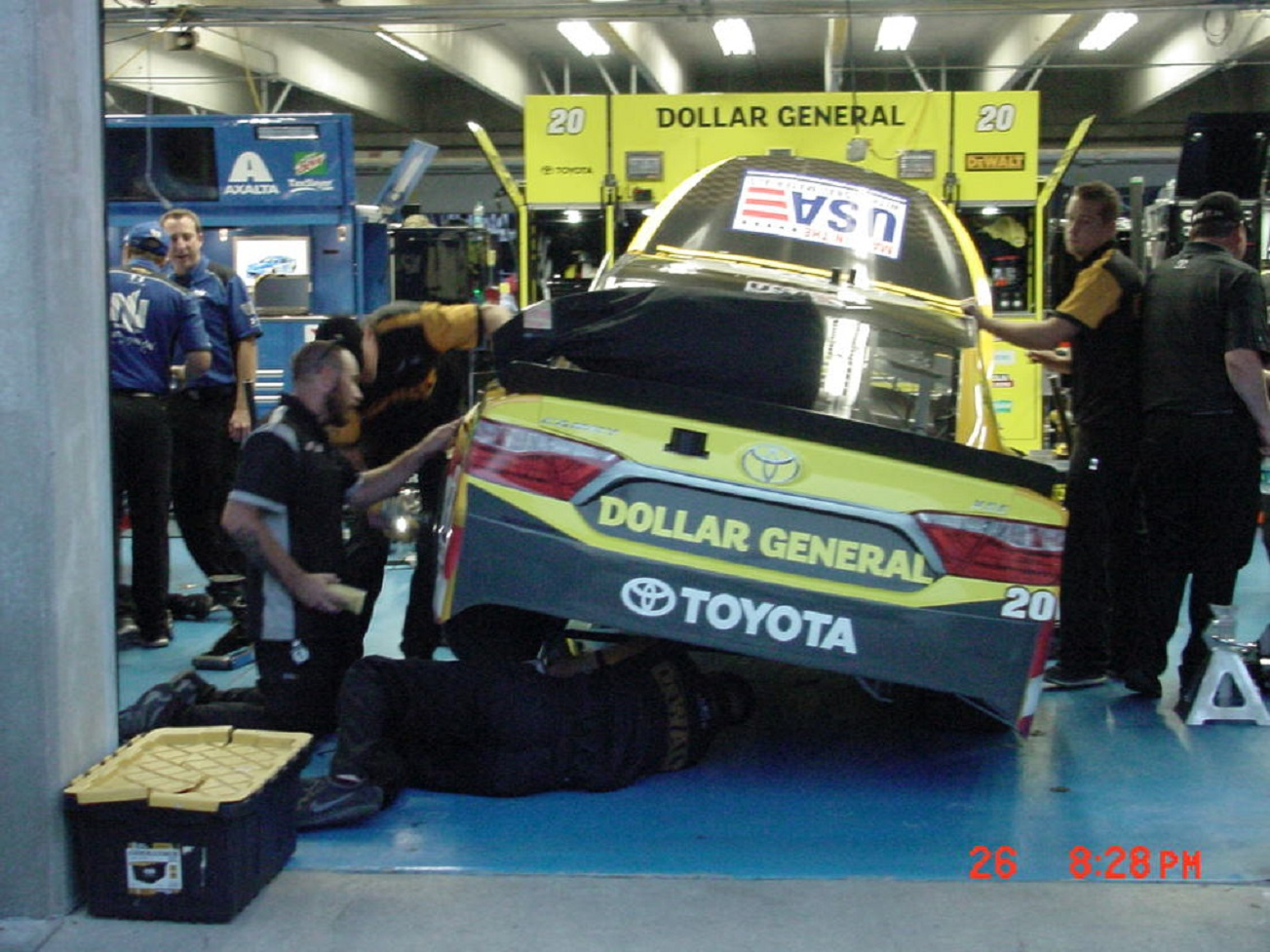 What does a NASCAR race care cost?