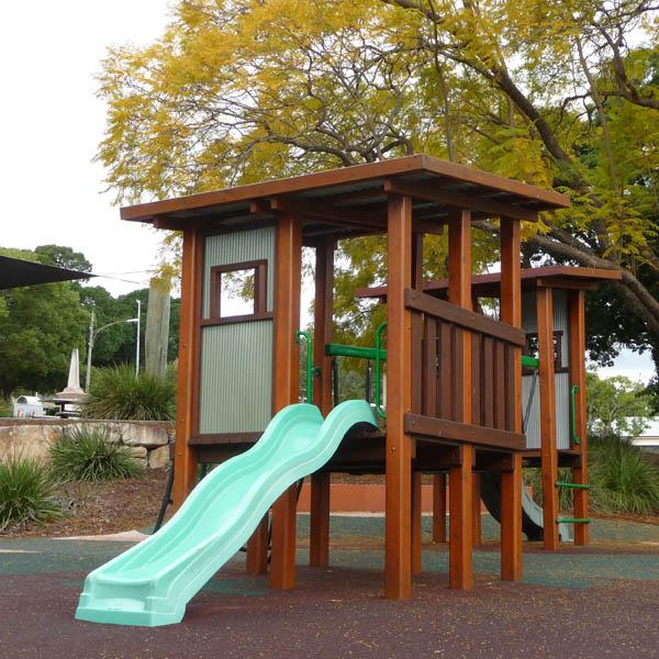 Queens Park Regional Playground, Ipswich, QLD