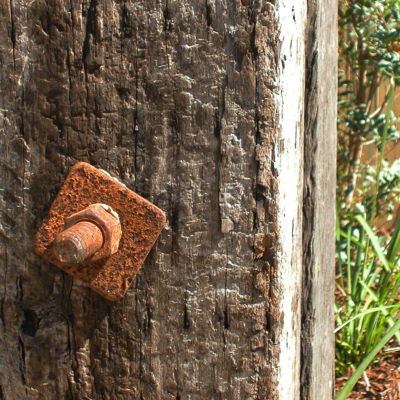 Lange Design - Recycled Timber Bollard