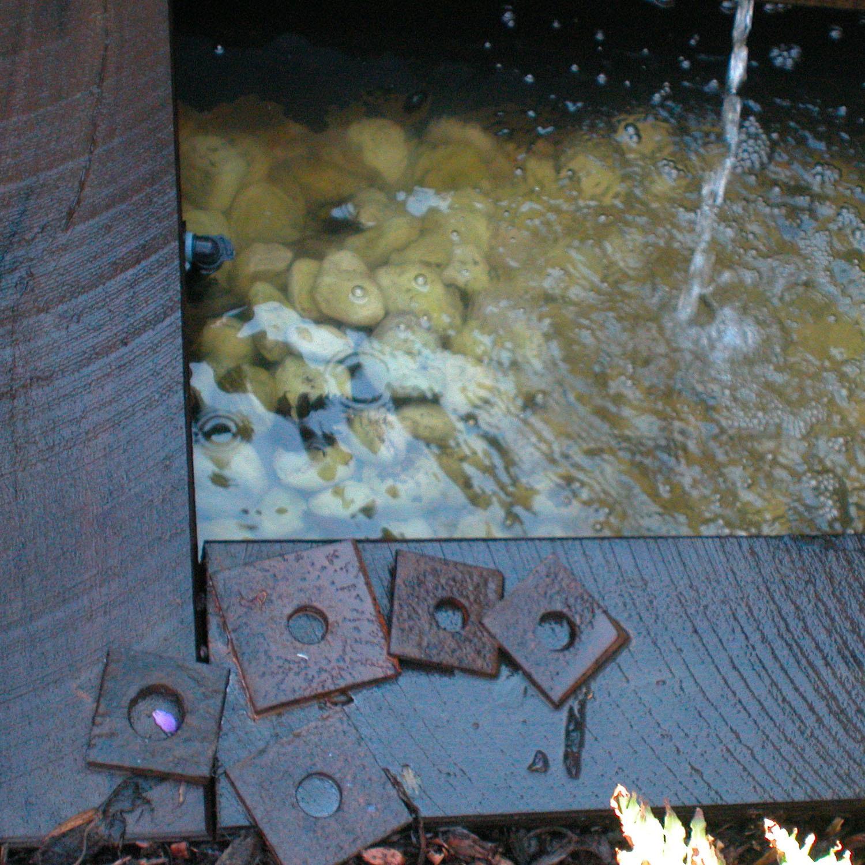 Lange Design - Rustic Water Feature