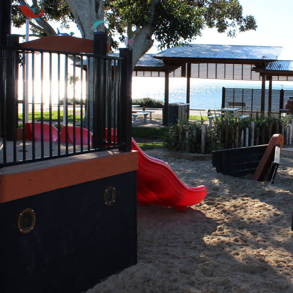 Cleveland Point Seaside Playspace, Cleveland, QLD