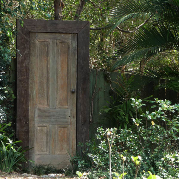 Secret garden doorway