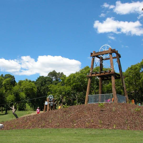 Queens Park Regional Playground, Ipswich, Queensland
