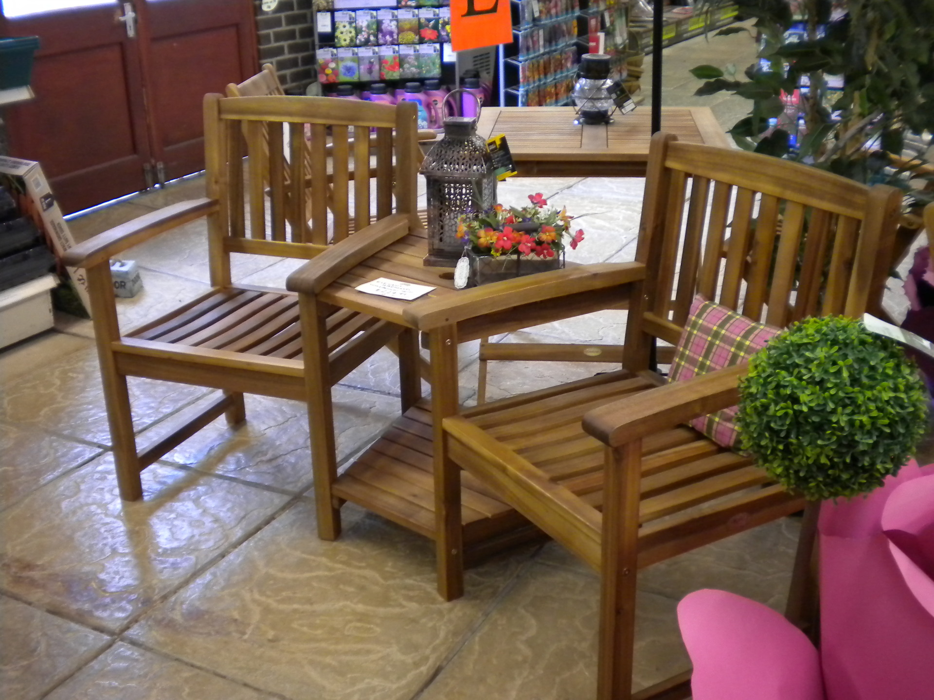 Hardwood Companion Seat was £229.99 - now £180