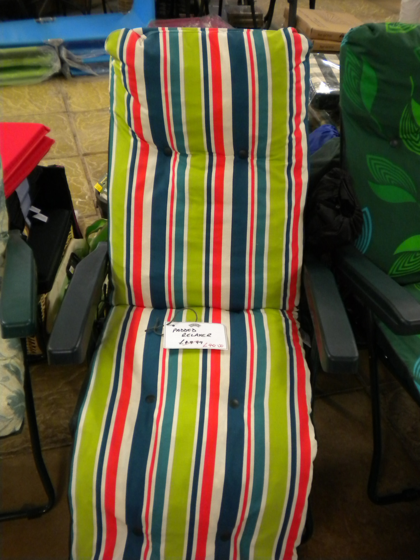 Padded relaxers - were £49.99 now only £40