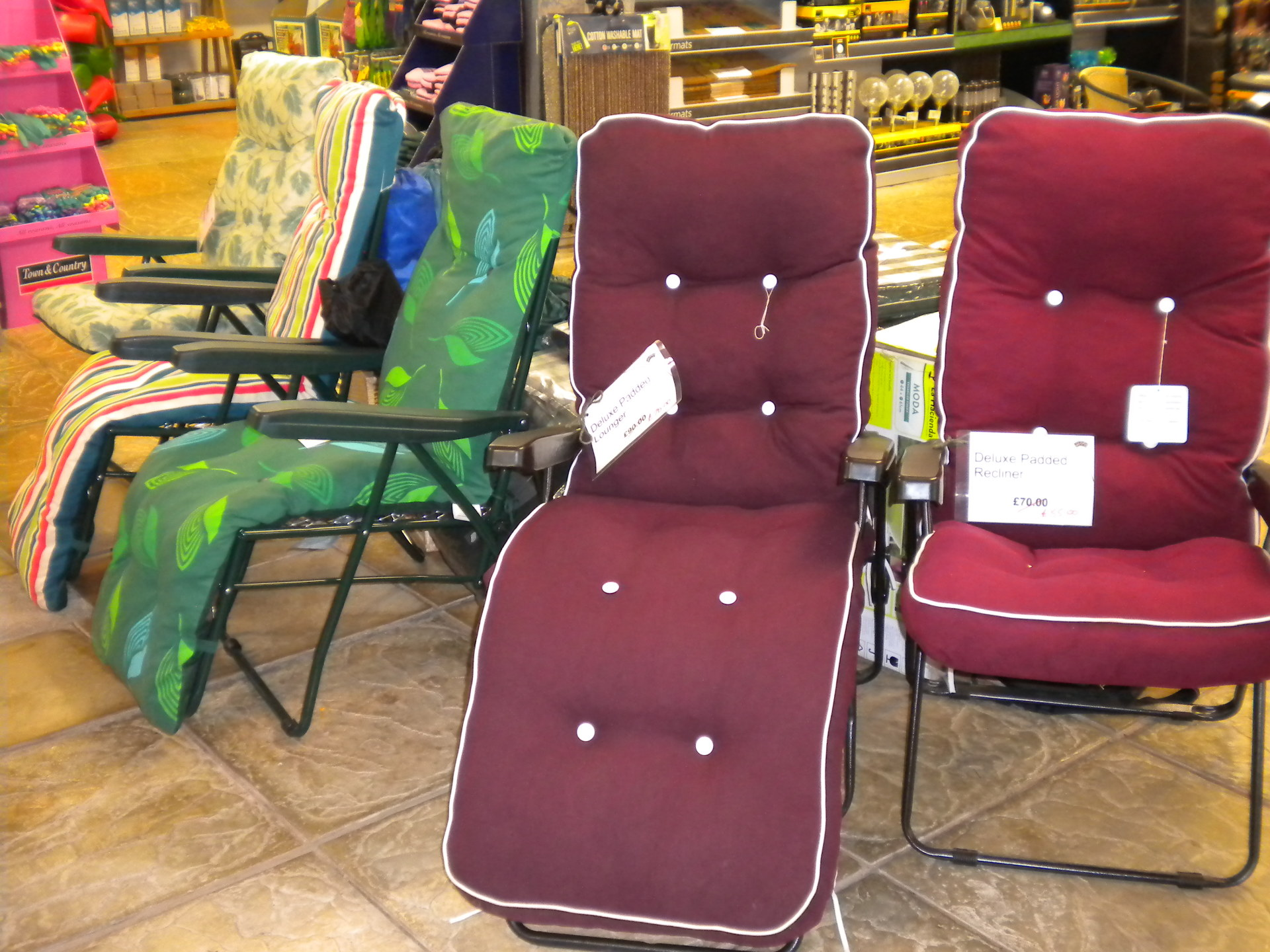 Luxury lounger - now £70