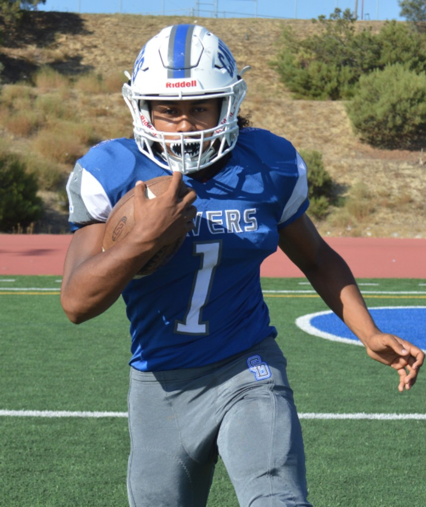 San Diego High School - RB Raiden Hunter