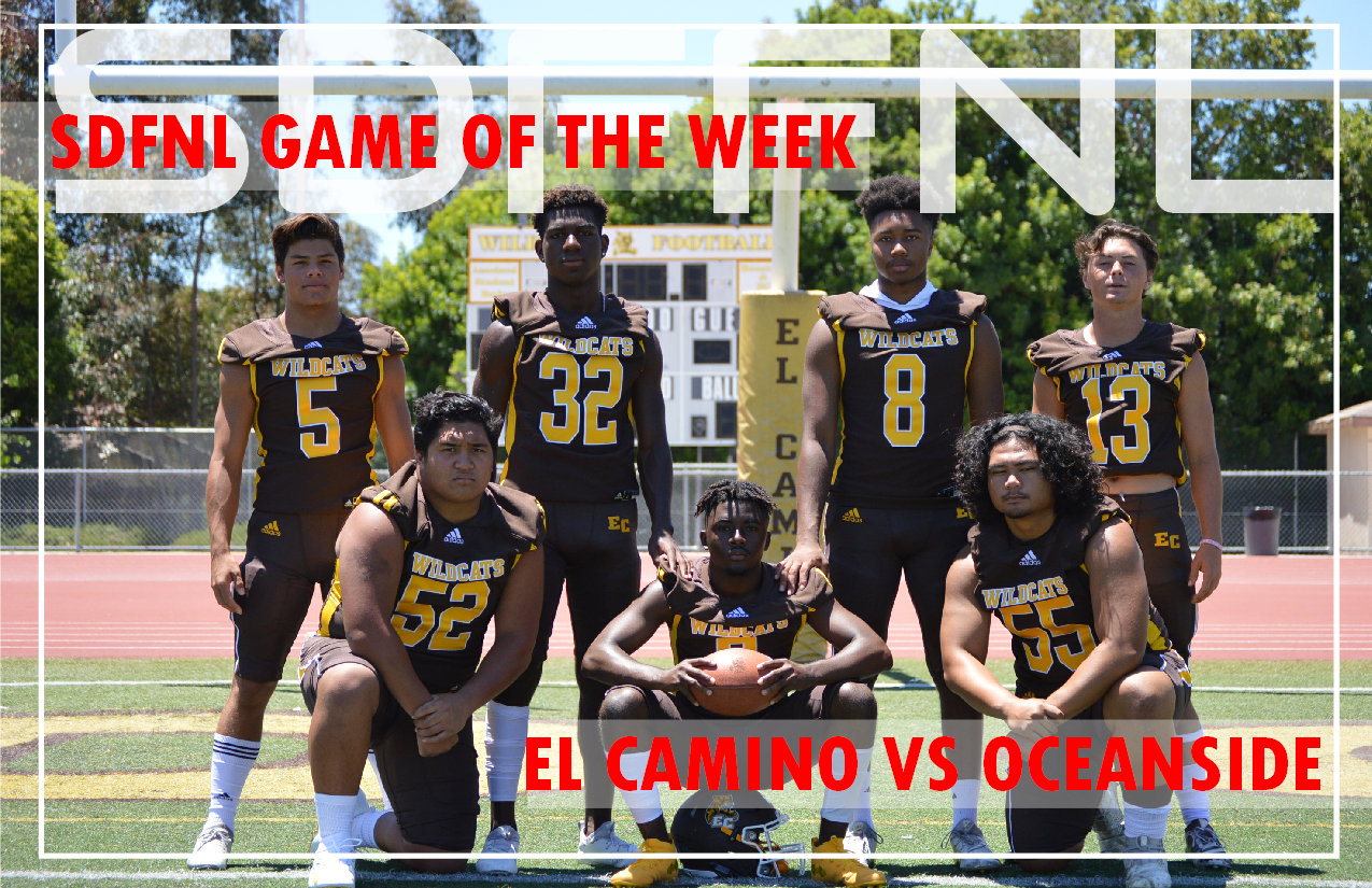SDFNL Game of Week- El Camino vs Oceanside