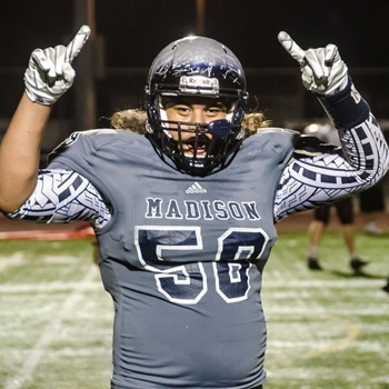 Madison OL David Falo
