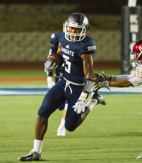 San Marcos High School CB/KR Terrell Burgess