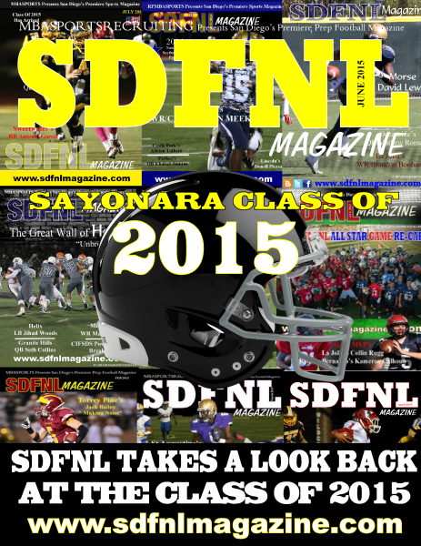 Here's to you Class of 2015 from SDFNL