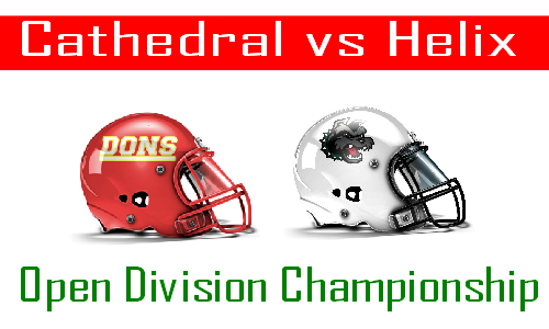 Helix vs Cathedral Open Division Championship