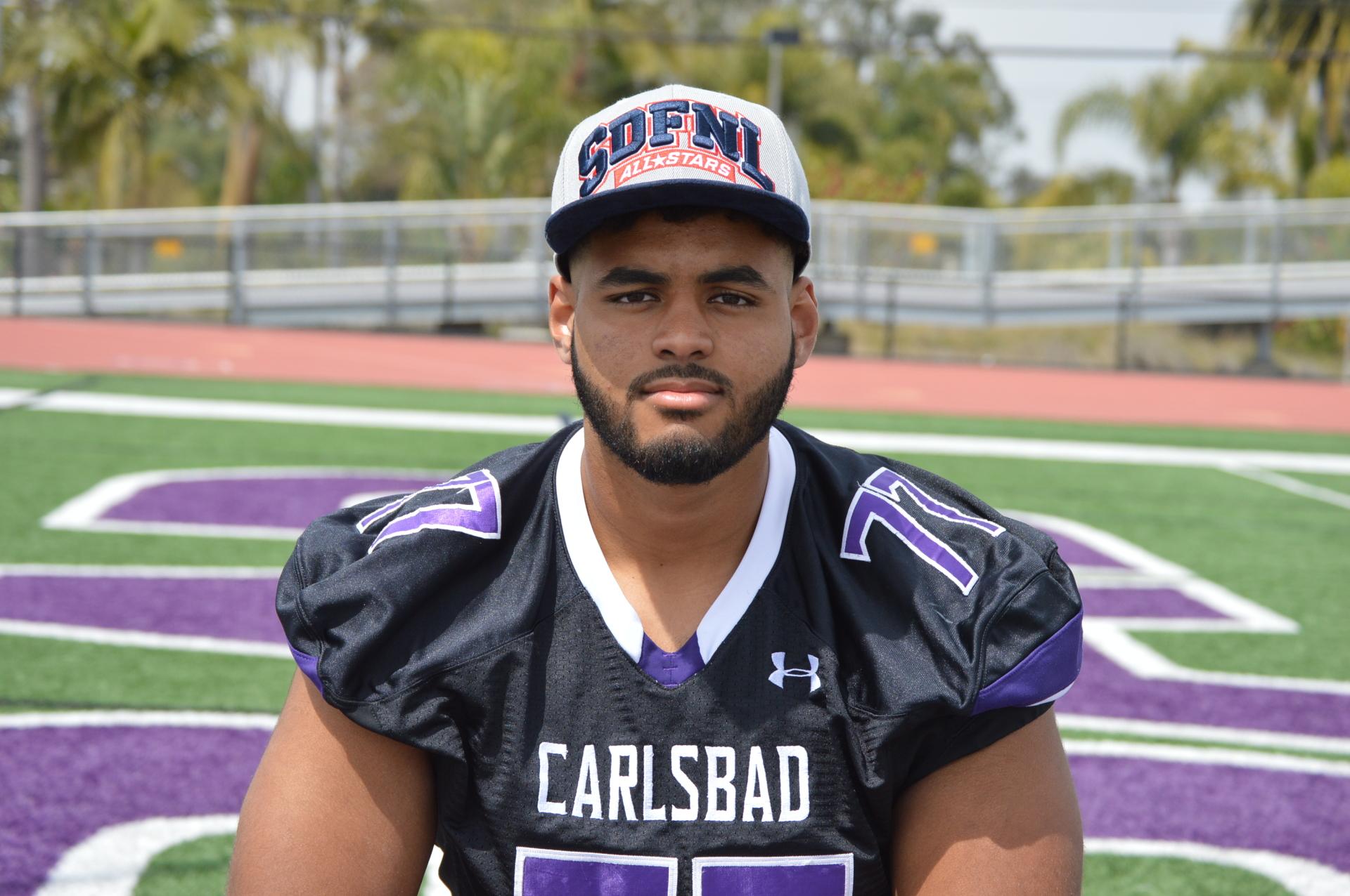 Carlsbad High School - Lineman Carlos Harrison