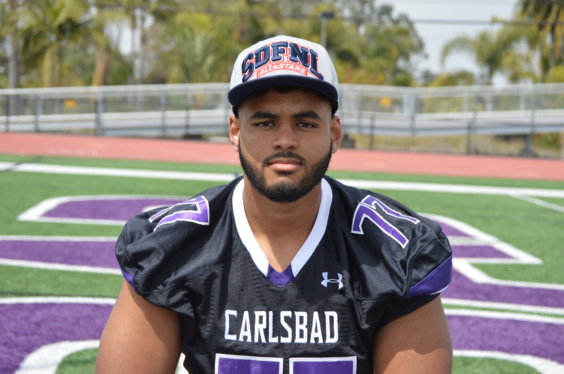 Carlsbad High School - Lineman Carlos Harrison