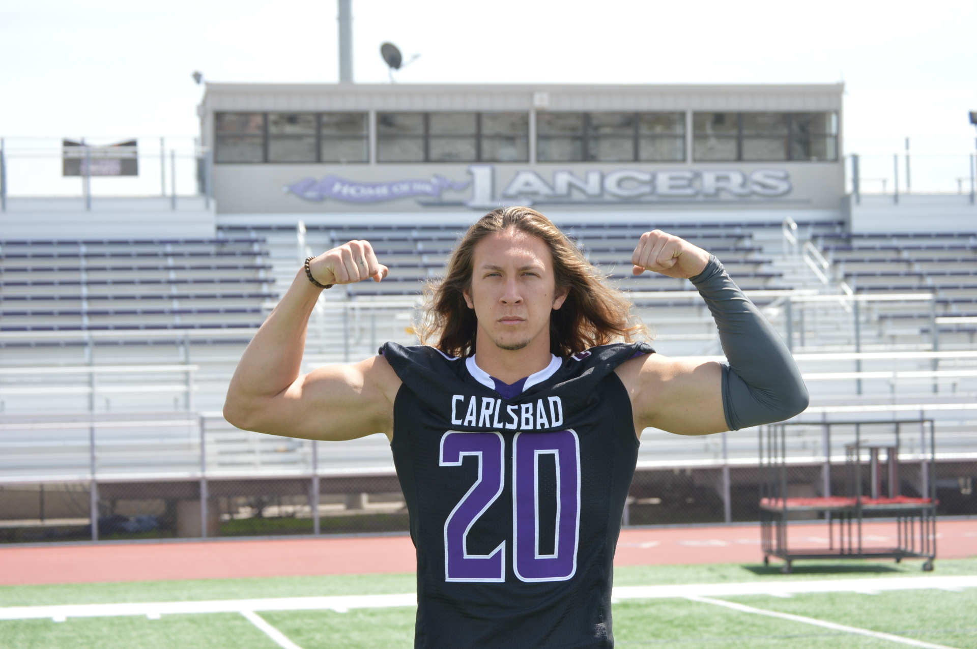 Carlsbad High School - DB Asa Turner