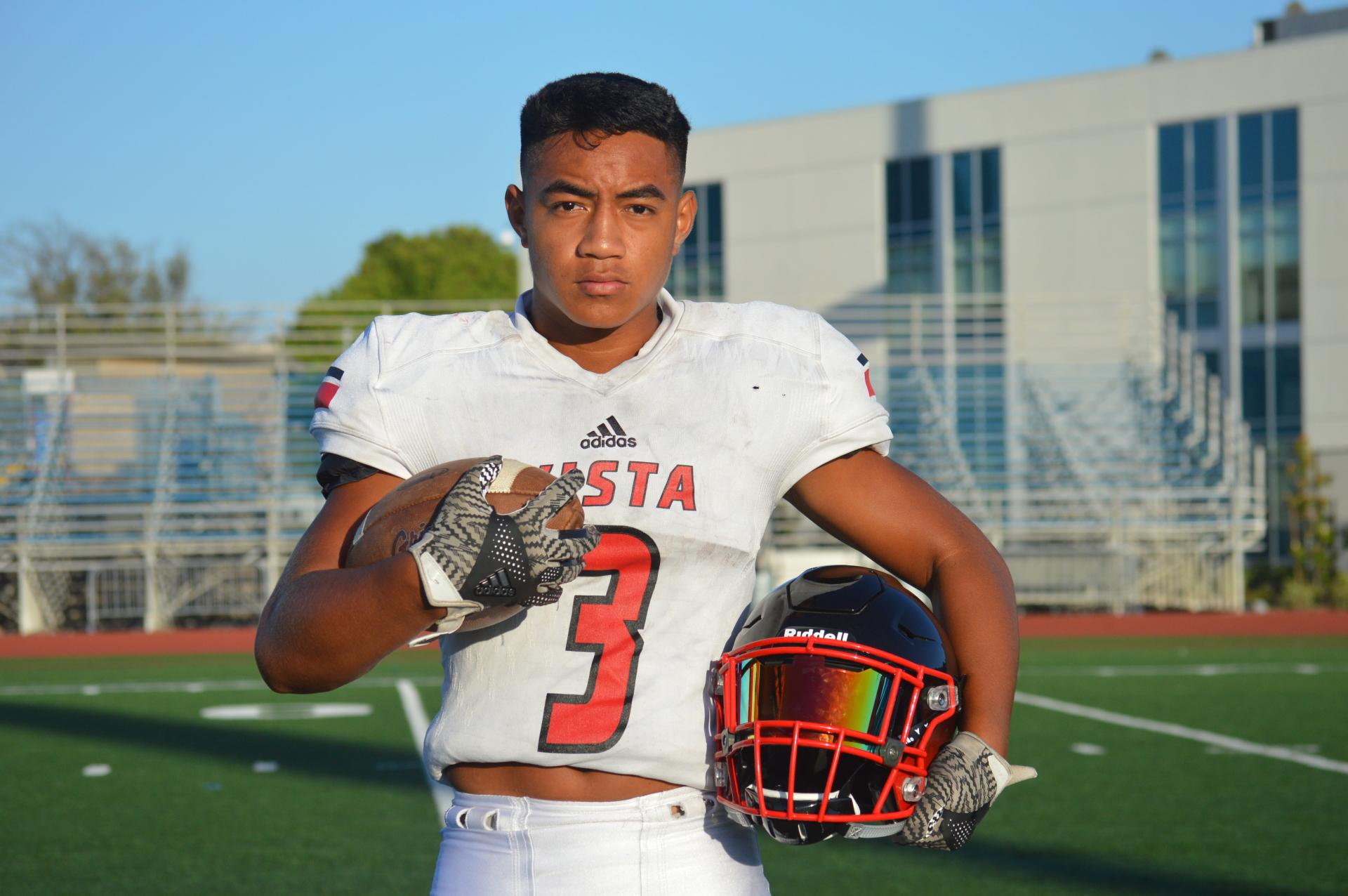 Vista High School - Athlete Desmond Taua