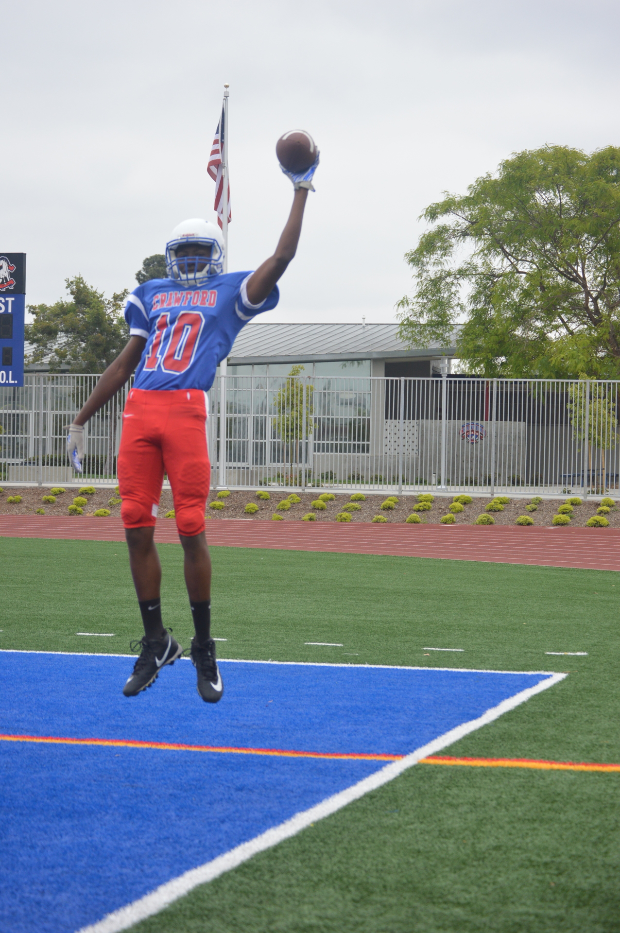 Crawford High School - WR Malachi Batie