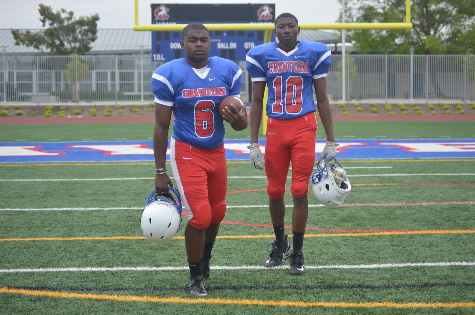 Crawford - LB Marlow Jenkins & WR Malachi Batie